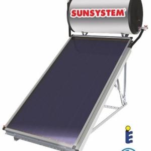 Термосифонна система за топла вода TSS - TSB 100 l - външен изглед