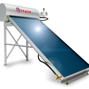 Слънчева система за топла вода с термосифонен бойлер 120л