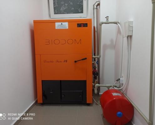 Котел на пелети BIODOM 27С4 34 kW