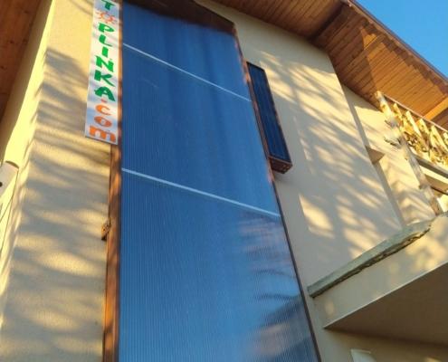 слънчев въздушен колектор 3м